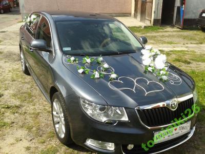 Dekoracja ślubna Auta ślub Auto Ozdoba 4602681657 Oficjalne