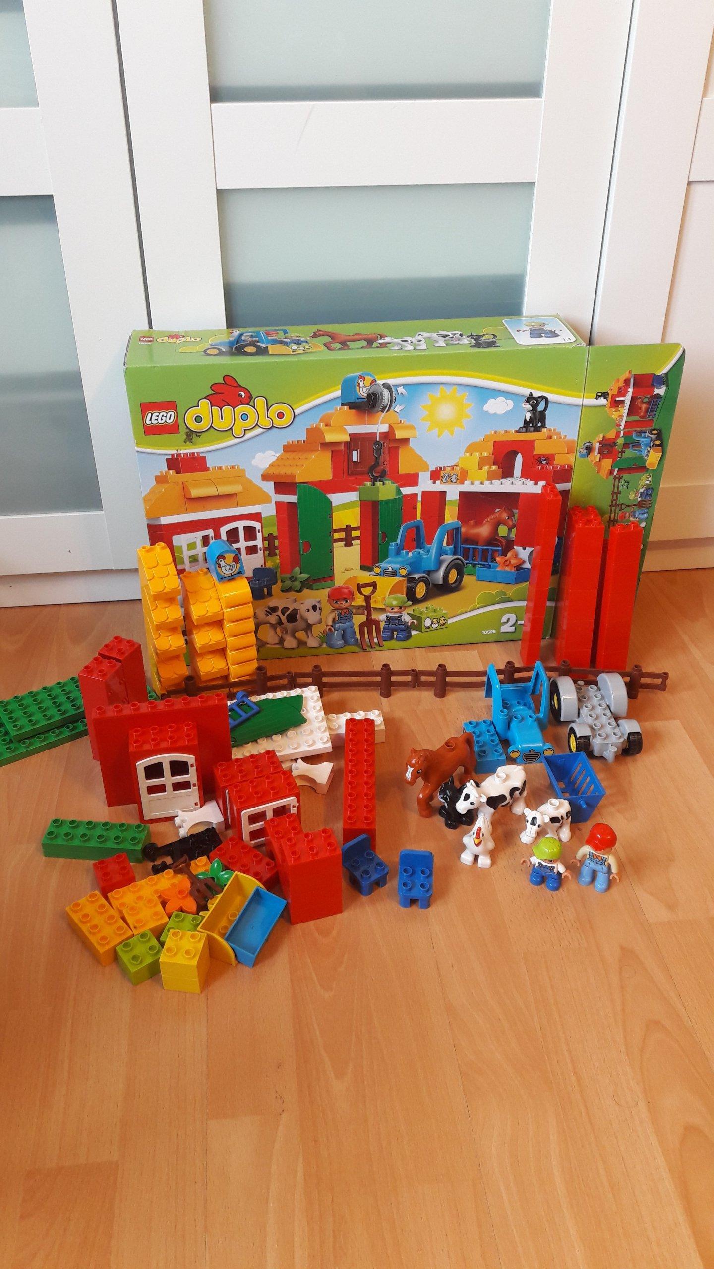 Klocki Lego Duplo 10525 Wielka Farma 7032655387 Oficjalne