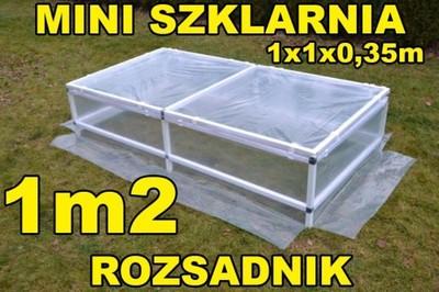 Rozsadnik Mini Szklarnia 1x1x0 35m Od Producenta 5946754078 Oficjalne Archiwum Allegro