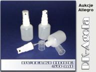 BUTELKA PLASTIKOWA z atomizerem butelki HDPE- 50ml