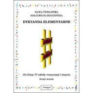 Dyktando elementarne IV