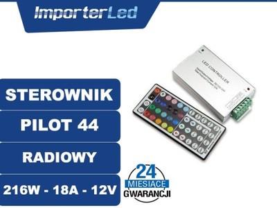Kontroler Sterownik RF 44 LED RGB 18A 216W ALED