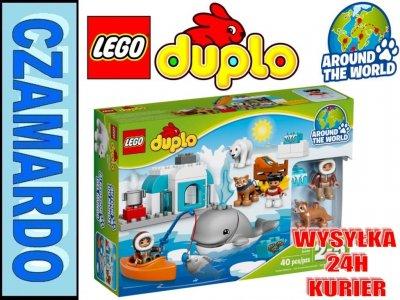 Klocki Lego Duplo Arktyka Dookoła świata 10803 6163430998