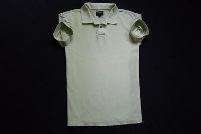 COTTONFIELD koszulka polo zielona logowana_______M