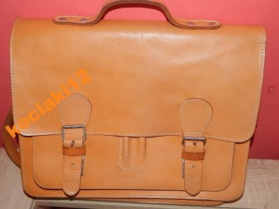a4347e125c07e Torba miejska   vintage - skóra  Jak nowa !! - 6363994220 ...
