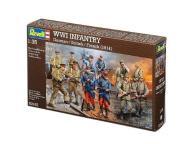 Model do sklejania REVELL Figurki WWI Infantry Ger