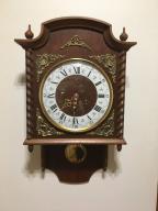 Zegar wiszący,sprawny Genfa 49 cm