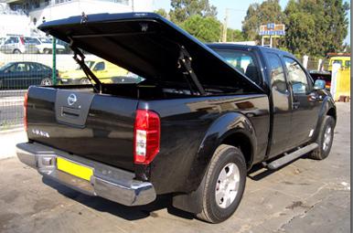 Zabudowa Pokrywa Paka Hardtop Nissan Navara D40 3862734491