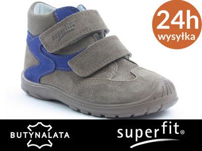 dea233e1 Wygodne buty dla dzieci SUPERFIT beżowy R22 - 6309609962 - oficjalne ...