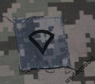 naszywka U.S. ARMY USA do naszycia acu stopień