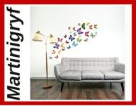 Walplus (TM) Colourful Butterflies Wall Stickers -