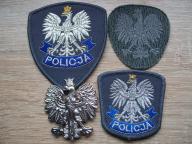 Zestaw 4 orzełkow Policja (#31)