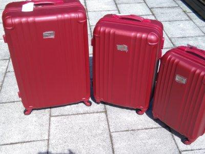 190ad4c94a5be WALIZKI Zestaw 3 walizek firmy Potrion Paris NOWE - 6197100122 ...