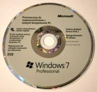 Windows 7 SP1 Professional 64 bit nośnik, ideał