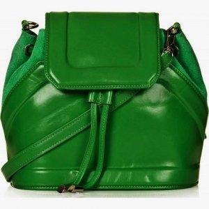 f924fd85ca23f TOPSHOP zielona torebka skórzana na ramię - 6255455607 - oficjalne ...