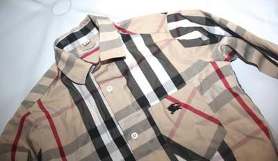 Koszula Burberry taliowana na 134 oryginalna