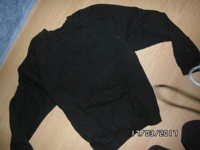 Dwie czarne bluzy WRANGLER M