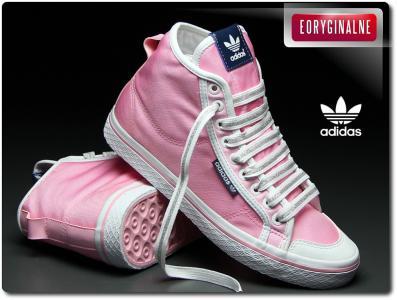 Buty damskie adidas honey mid g64244 trampki Zdjęcie na imgED