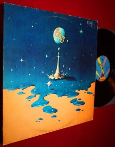 ELECTRIC LIGHT ORCHESTRA - TIME LP ..LIFE'S MEANT.