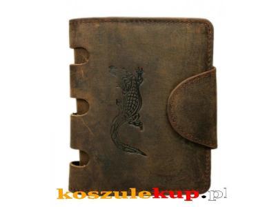 a2a1da80d79b0 Duży solidny portfel męski Always Wild brązowy - 3001795013 ...
