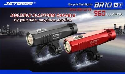 Latarka na rower JETBEAM BR10GT 960 lum XM-L2 USB