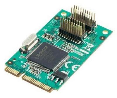 4 Porty szeregowe PCI Express Mini
