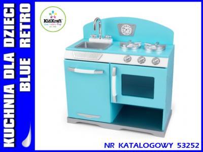 Kuchnia Dla Dzieci Wyprzedaz Blue Retro Kidkraft 4973726353
