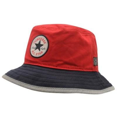 Converse Block Bucket - kapelusz czerwony