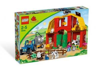 E Zabawki Klocki Lego Duplo 5649 Duża Farma 2548287875 Oficjalne