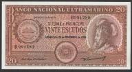 S. Tome e Principe - 20 escudos - 1958 - UNC -