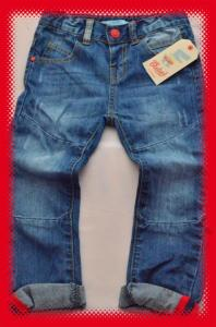 jeansy PRIMARK EARLY DAYS 12-18m 86cm LITTLE REBEL