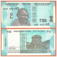 INDIE - 50 RUPII - 2017 - P-NEW - UNC