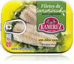 Filety z sardynek portugalskich w oleju Ramirez