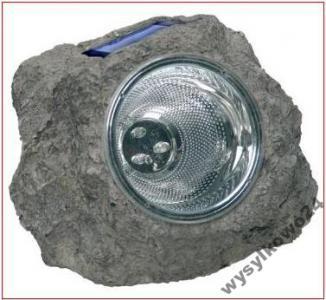 B37 LAMPA SOLARNA OGRODOWA W KAMIENIU LED 2 SZT.