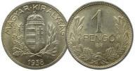 18.WĘGRY, 1 PENGO 1938