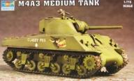 TRUMPETER 07224 1:72 M4A3 SHERMAN