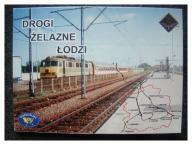DROGI ŻELAZNE ŁODZI - 12 KART w ETUI - NOWE