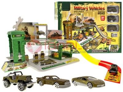 BAZA wojskowa 2piętrowy Parking TOR wojsko +3 AUTA