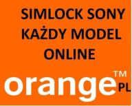 SIMLOCK SONY/SONY ERICSSON ORANGE PL KAŻDY MODEL !