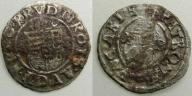 1266. RUDOLF II HABSBURG (1576-1608) denar
