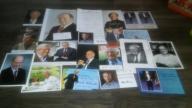 Autografy noblistów wyprzedaż kolekcji HIT