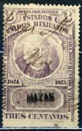 C. Meksyk - Rev. - 3 cts.