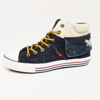 3504c528c2504 Tenisówki damskie LEVIS 38 jeans buty jesień HIT - 7002328820 ...