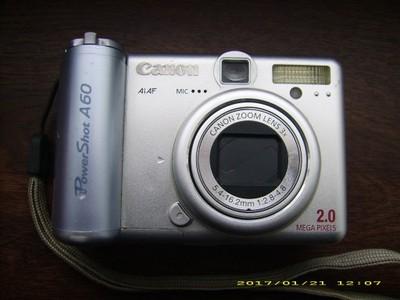 Canon PowerShot A60 - cyfrowy aparat kompaktowy