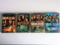 film seria Piraci z Karaibów część 1, 2, 3, 4 DVD