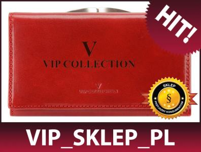 06061a8734838 15% Portfel damski VIP COLLECTION V04-01-028-30 - 4658805972 ...