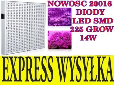 225 LED SMD Grow lampa hodowli uprawy roślin hps