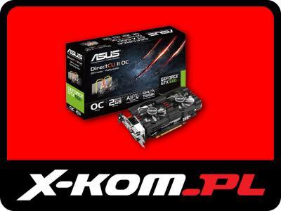 ASUS GeForce GTX660 2GB 192bit DirectCu II OC
