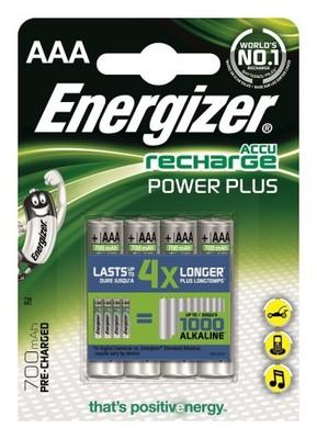 ENERGIZER Akumulator PowerPlus 4 x 700mah