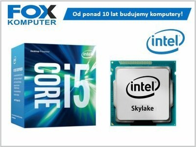 Procesor Intel Core i5-6400 3.3GHz 6MB BOX LGA1151